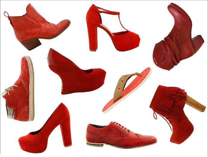 All About Red Shoes For Women