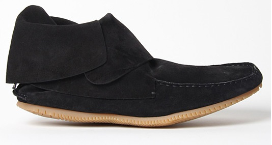 Casual Mens Black Moccasin Suede Shoes