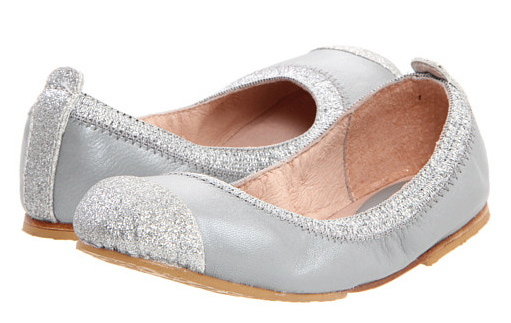 Silver Flat Shoes For Girls Cute silver girls dress shoes