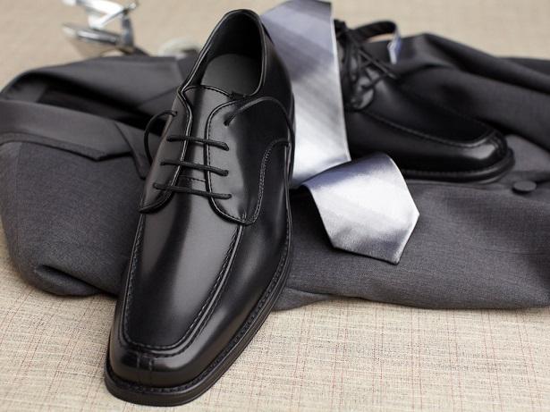 Elegant Black Mens Dress Shoes