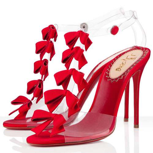 Glamarous Red Evening Shoes For Women