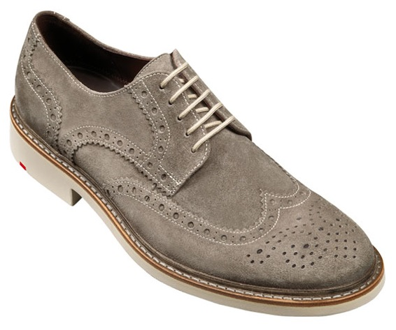 Lloyd Men's Serge Wing Tip Suede Shoes