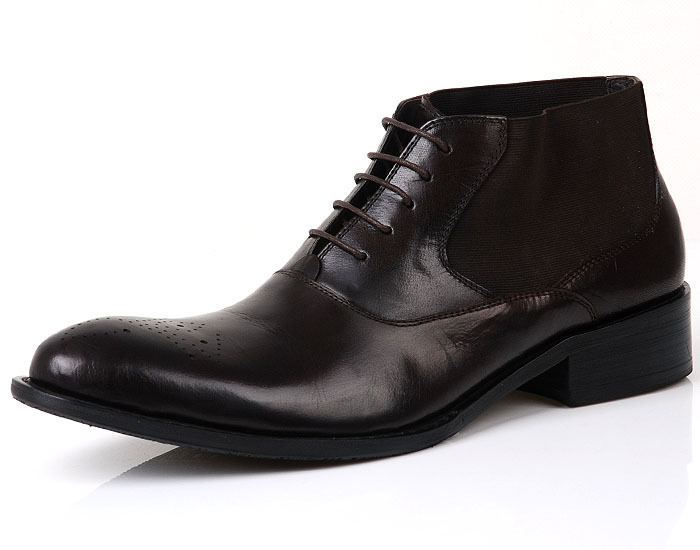 Mens Cheap High Top Shoes for Autumn and Winter