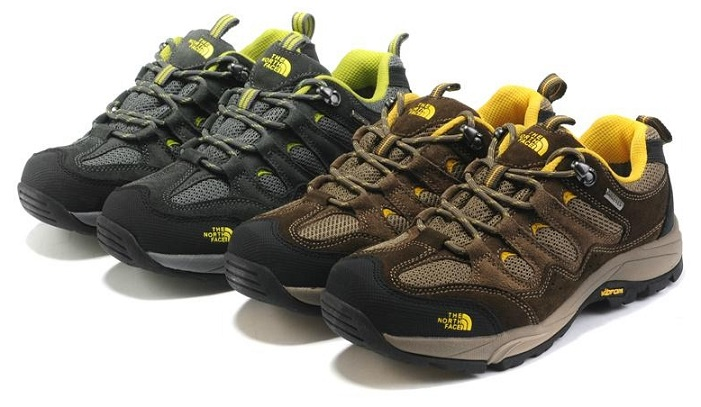 New Northface Waterproof Hiking Shoes For Men