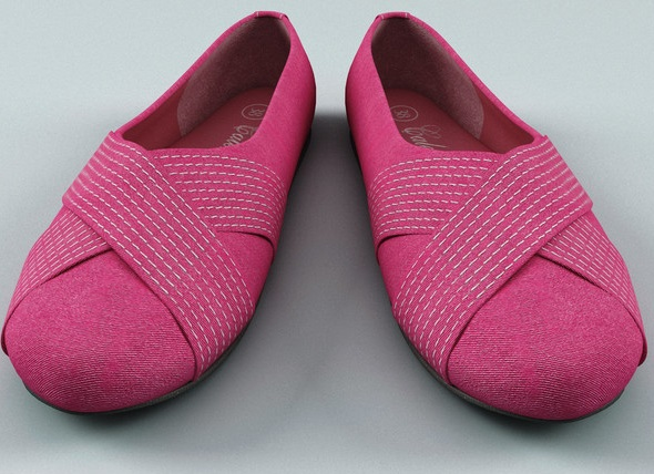 Pink Large Womens Shoes