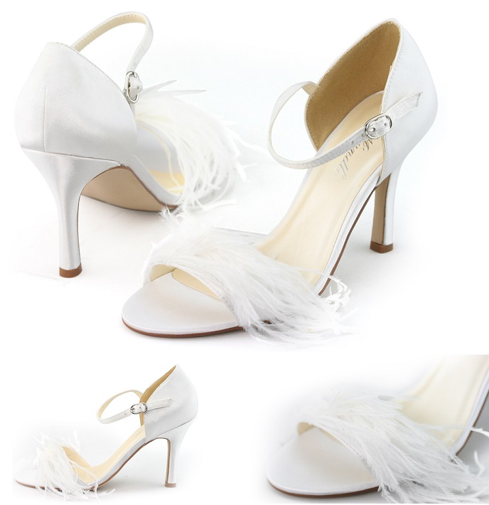 Stylish Sexy White Dress Shoes For Women