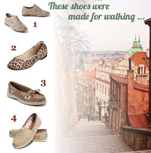 Trendy and Stylish Walking Shoes