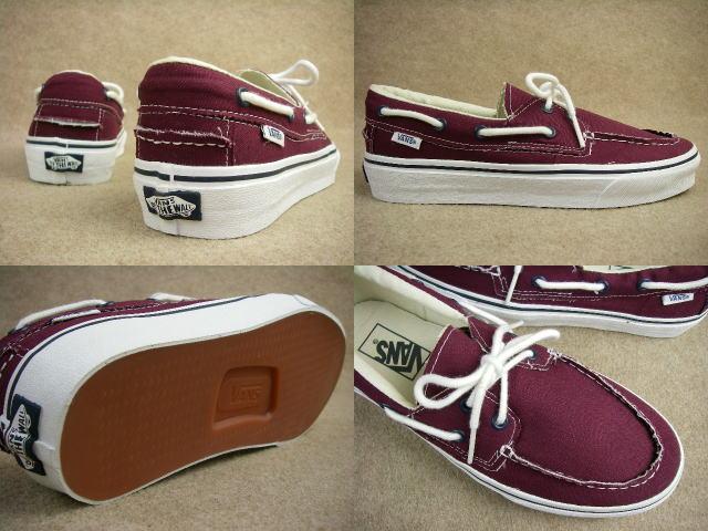 Vans Canvas Deck Shoes For Men