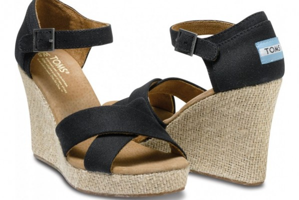 Women's Merona^ Marguerite Closed Wedge Canvas Espadrille -Neutral