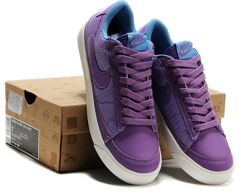 Nike Purple Shoes For Women